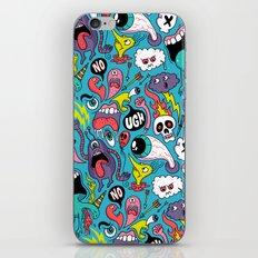 Doodled Pattern iPhone & iPod Skin