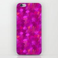 Jellyfish Pink iPhone & iPod Skin