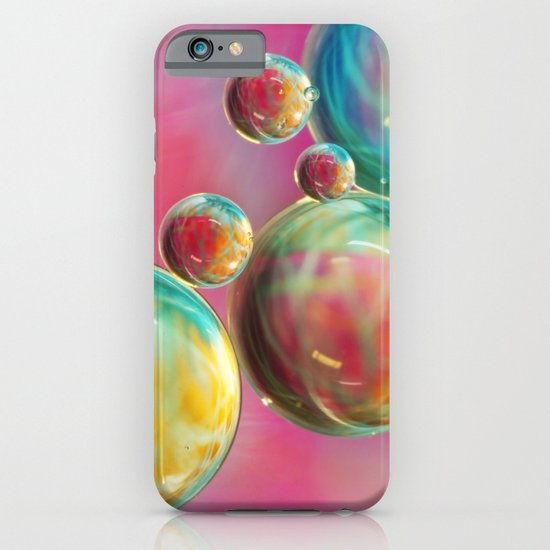 Tropical Feather Bubble Abstract iPhone & iPod Case