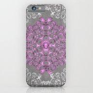 Mandala Pattern With Gli… iPhone 6 Slim Case