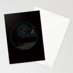 Moonlight Companions Stationery Cards