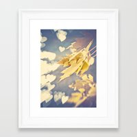 I Heart Autumn Framed Art Print
