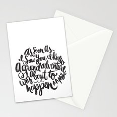 grand adventure Stationery Cards
