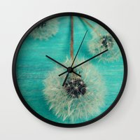 Three Wishes Wall Clock