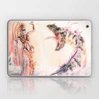 Leviathan against Shiva Laptop & iPad Skin