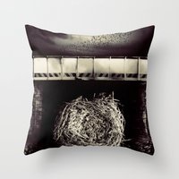 Ask Throw Pillow