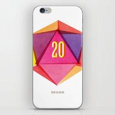 Rolling D20's Like A Big Shot  iPhone & iPod Skin