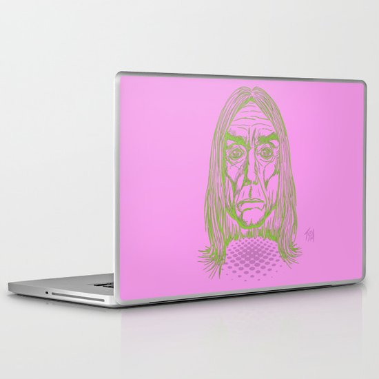 """Ready to Die"" by Tim Lukowiak Laptop & iPad Skin"