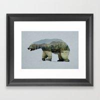 The Arctic Polar Bear Framed Art Print