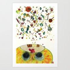 La~La~La~Candy! Art Print