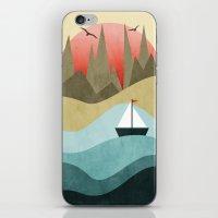 Ocean Adventure 2  iPhone & iPod Skin