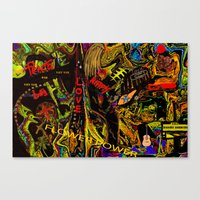 Flower Power And The Hip… Canvas Print
