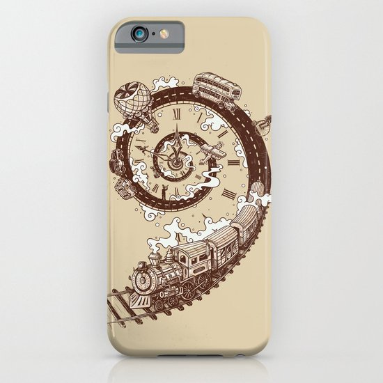 Time Travel iPhone & iPod Case