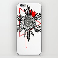 Eguzkilore iPhone & iPod Skin