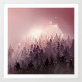 Art Print - fantasy forest - Bekim ART