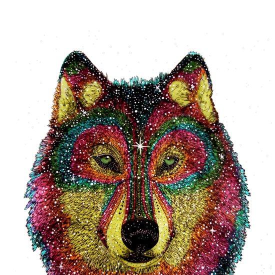 MoonWolf  Art Print