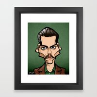Donnie Framed Art Print