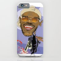 iPhone & iPod Case featuring Samuel L Jackson by drawgood