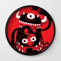 Mister Monster Wall Clock