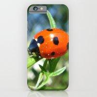 iPhone & iPod Case featuring Ladybug by Flysmile
