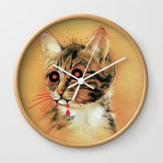 Devil Katz Wall Clock