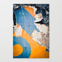 Urban Archaeology No. 35 Canvas Print