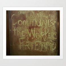 The Worker's Friend Art Print