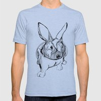 White Rabbit Mens Fitted Tee Athletic Blue SMALL