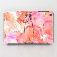 Bottle Pink iPad Case