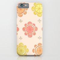 iPhone & iPod Case featuring Citrus Pattern by Julia Emiliani
