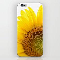 Sunflower Detail - Yellow iPhone & iPod Skin