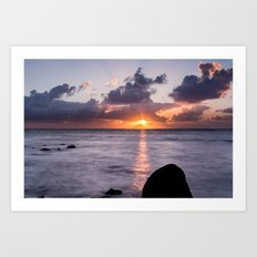 Island Sunrise Art Print