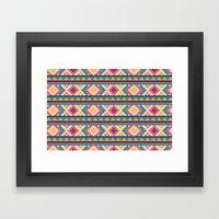 I Heart Patterns #016 Framed Art Print