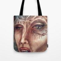 facial Tote Bag