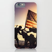 Soldiers Raising An Amer… iPhone 6 Slim Case