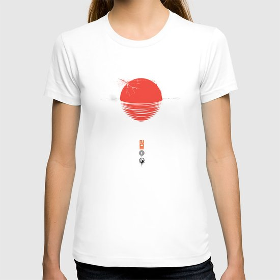 "Japan relief poster/all proceeds will go to ""Peace Winds"" T-shirt"
