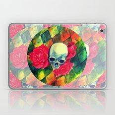 skull n roses Laptop & iPad Skin