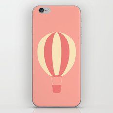 #84 Hot Air Balloon iPhone & iPod Skin