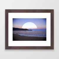 .M. Framed Art Print