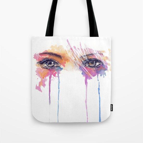 Rainbow Tears Tote Bag