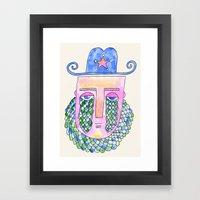 Sea Sheriff Framed Art Print