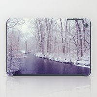 winter blues iPad Case