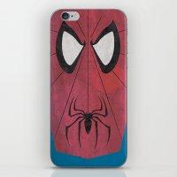 Minimal Spiderman iPhone & iPod Skin