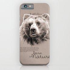 Bear (BornInNature) Slim Case iPhone 6s