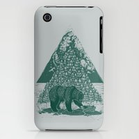 iPhone 3Gs & iPhone 3G Cases featuring Teddy Bear Picnic by Louise Hubbard