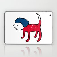 Dog-girl Laptop & iPad Skin