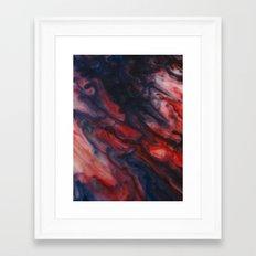 Braised Framed Art Print