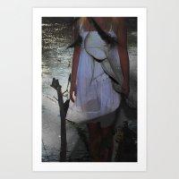 Vanity Kiss  Art Print