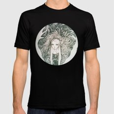 keyhole in the jungle Mens Fitted Tee Black SMALL