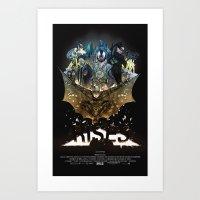 you're COLOR rises Art Print